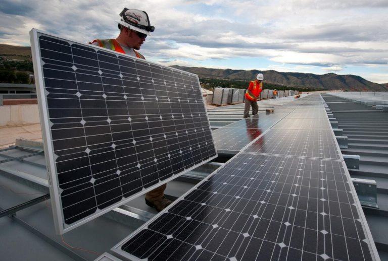 Panneaux solaire recyclage environnement